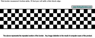 Checkered Flag Wallpaper Border NASCAR Cars Diner F1