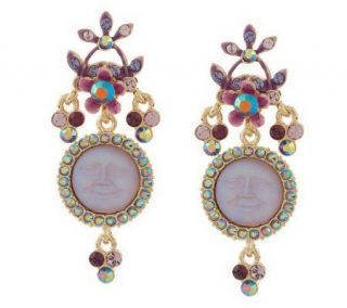 Kirks Folly Seaview Moon Shine Garden Earrings —