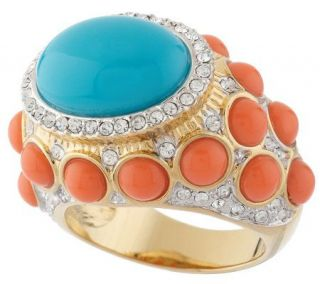 Kenneth Jay Lanes Fancy That Cabochon Ring —
