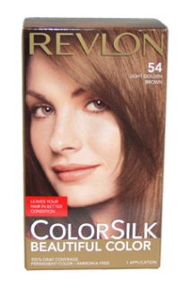 54 Light Golden Brown Women Hair Color Gray Coverage New