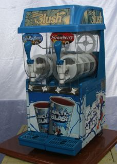 Cornelius Ice Peak 2 Bowl Slushy Granita Frozen Beverage Machine