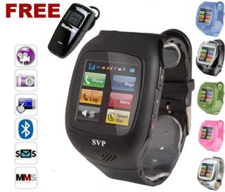 G13 GSM Bluetooth Camera  Watch Cell Phone Choose Your Color