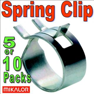 Mikalor W1 Constant Tension Spring Band Type Fuel Hose Clips Silicone