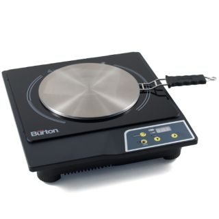 Burton   Portable Induction Cooktop Stove & Interface Disk Combo Set