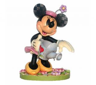 Jim Shore Disney Traditions Minnie Garden Statue —
