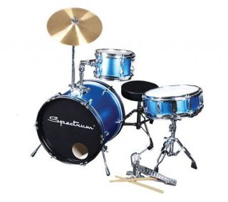 Specrum AIL 650B Elecric Blue 3 Piece JuniorDrum Ki —
