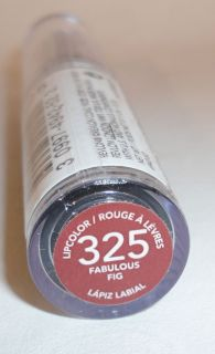 Revlon~ COLORSTAY Lipcolor Lipstick   325 FABULOUS FIG