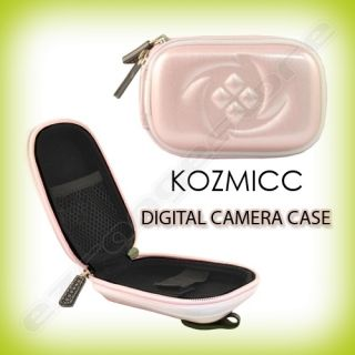 Light Pink Digital Camera Case Cover for Nikon Coolpix L24 Coolpix 12