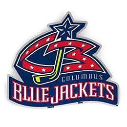 Columbus Blue Jackets NHL Color Auto Emblem