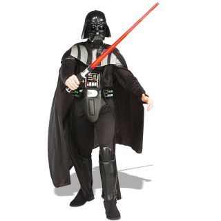 C223 Star Wars Darth Vader Deluxe Adult Costume M L XL