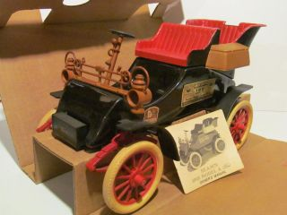 Jim Beam Decanter 1903 Model A Ford Car Regal Handcrafted China C
