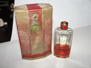 RARE Antique Coty Perfume Bottle in Original Box