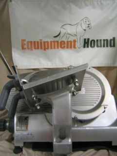 HOBART 2812 12 MANUAL ELECTRIC MEAT SLICER 1/2 HP COMMERCIAL SLICER