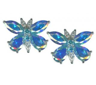 Kirks Folly Monarch Dream Butterfly Pierced Earrings   J297656