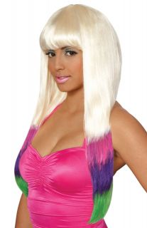 minaj carnival costume wig multi color description carnival costume