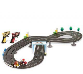 Battery Operated Mario Kart Race Set with BonusYoshi Kart —