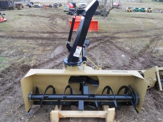 Snow Blower 3 Point Hitch Attachment for Compact Tractors 272