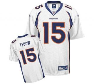 NFL Denver Broncos Tim Tebow Youth Replica White Jersey —