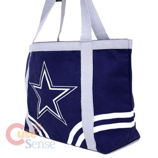 NFL Dallas Cowboys Tote Bag Shoulder Diaper Bag 20 Canvas Logo