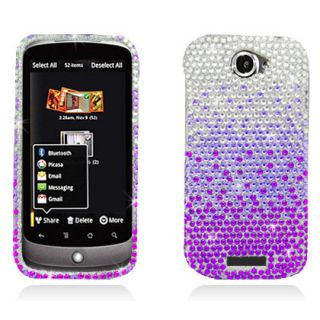 Crystal Diamond Bling Hard Case Phone Cover Gradient Purple