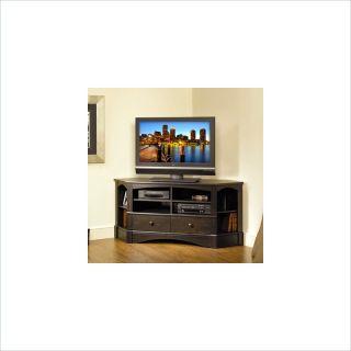 Sauder Harbor View Entertainment Credenza Antiqued Paint Tv Stands