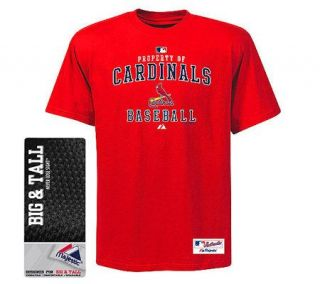 MLB St. Louis Cardinals Tall AC Property Heavyweight T Shirt