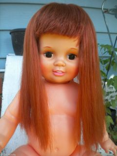 1973 Ideal Big Baby Crissy Doll Gorgeous red hair