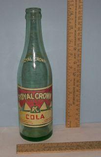 Crown RC Cola C 1936 Eugene Klamath Falls Corvallis Bend Oregon