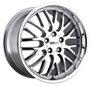 18x10 5 Cray Manta Chrome Wheel Rim s 5x120 7 5 120 7 5x4 75 18 10 5
