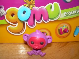 GOMU Series 2 Eraserland Purple MONKEY CHIMP g235 Zoo Eraser