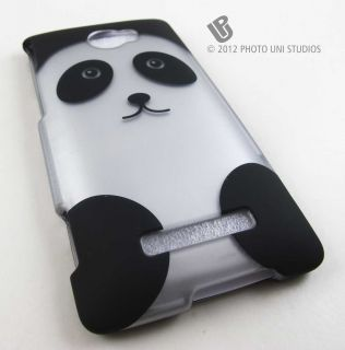 Bear Hard Snap on Case Cover HTC Windows Phone 8x Accessory