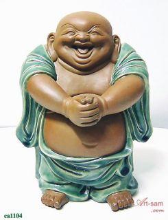 Chinese Ceramic / Porcelain Figurine Statue Congratulation