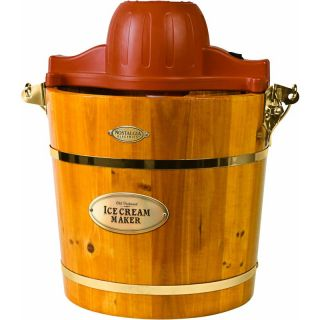 Nostalgia Electrics ICMW 400 Old Fashion Wooden Ice Cream Maker