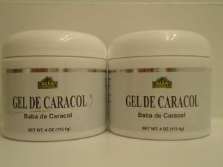 Jar Snail Cream Gel Baba Crema de Caracol 100 4 oz Acne Cellulite
