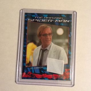Spider Man The Movie Authentic Costume Card Dr Connors Prop Material