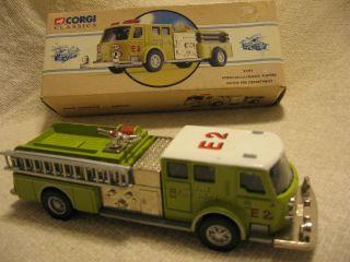 CORGI American La France Pumper Wayne Fire Dept. Truck 97393