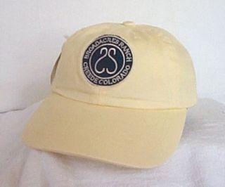 BROADACRES RANCH CREEDE COLORADO* Fly Fishing Ball cap hat IMPERIAL
