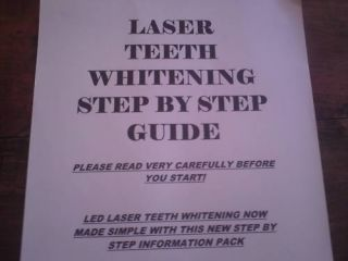 Easy Laser Teeth Whitening Guide Consent Forms