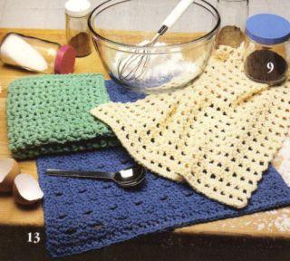 Online Crochet Patterns | Crochet Pot Scrubber Patterns