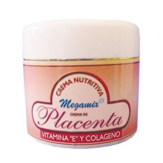 CREMA DE PLACENTA CREAM VITAMIN E, COLLAGEN ANTI AGE ANTI WRINKLE 2oz
