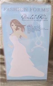 fashion forms bridal kit wedding day essentials nib