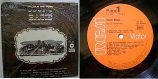 Count Basie 1949 Import Black White RCA Vinyl LP Record