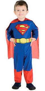 Superman Super Hero Costume Infant Halloween Costumes