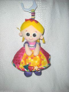 Plush Lamaze Doll Hanging Activity Crib Stroller Baby Girl Toy