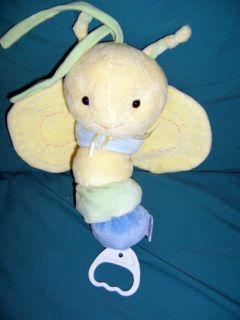 Carters Just One Year Musical Butterfly Crib Pull Toy