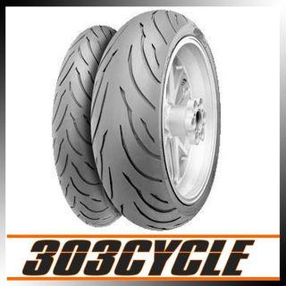 Continental Conti Motion Motorcycle Tire Set 07 09 Suzuki GSXR1000 120