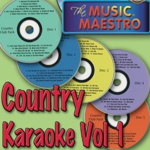 290 Songs Country Karaoke 15 CD G Lot Value Over $159