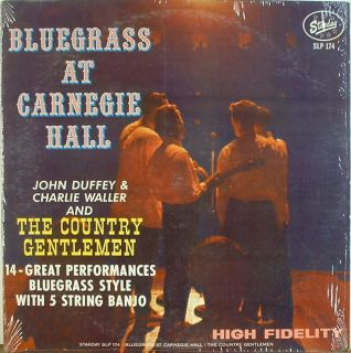 Country Gentlemen Bluegrass At Carnegie Hall Starday 174 NICE