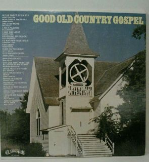 Good Old Country Gospel Record LP 33 1 3 Loretta Lynn Bill Anderson