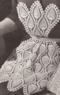Filet Crochet Baby Bib Patterns : Vintage Filet CROCHET BABY BIB PATTERN Dog House Puppy